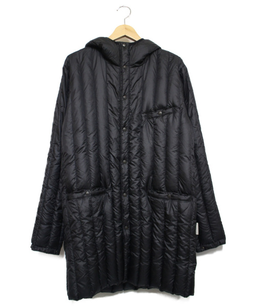 RockyMountainFeatherBed(ロッキーマウンテンフェザーベッド)RockyMountainFeatherBed (ロッキーマウンテンフェザーベッド) SIX MONTH DOWN LONG PARKA ブラック サイズ:38の古着・服飾アイテム