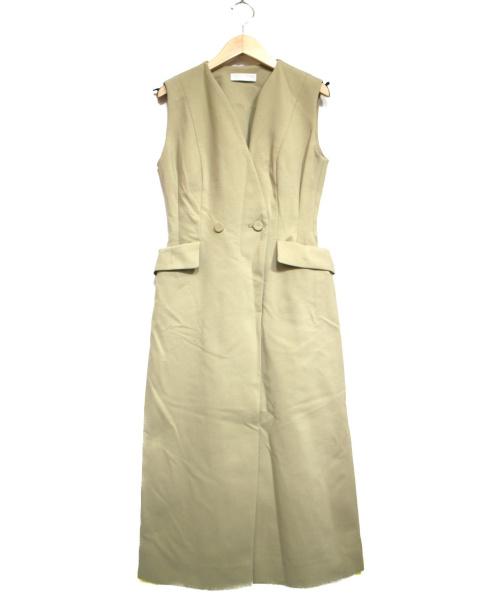 CELFORD(セルフォード)CELFORD (セルフォード) テーラードポンチワンピース カーキ サイズ:36 未使用品 19AWの古着・服飾アイテム