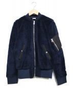 B:MING LIFE STORE(ビーミングライフストア)の古着「ボアMA-1ジャケット」|ネイビー