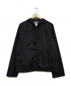 BLACK COMME des GARCONS×NIKE(ブラックコムデギャルソン×ナイキ)の古着「バックプリントナイロンジャケット」|ブラック