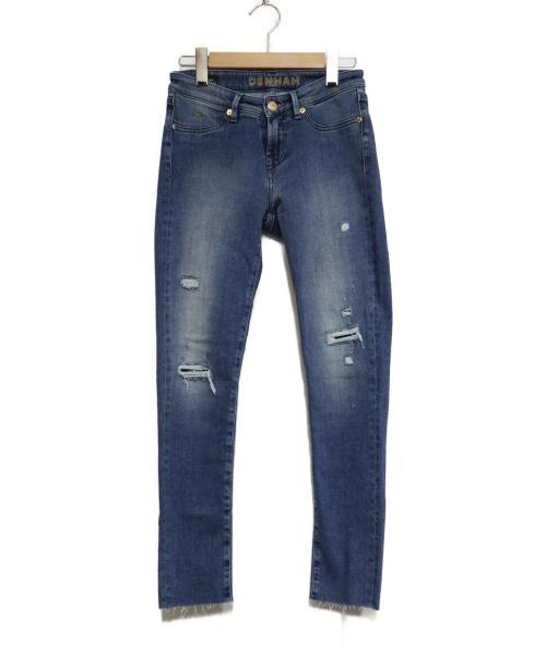 Denham(デンハム)Denham (デンハム) スキニーデニムパンツ インディゴ サイズ:W24 SPRAYの古着・服飾アイテム