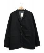 DESCENTE PAUSE(デサントポーズ)の古着「テーラードジャケット」 ブラック