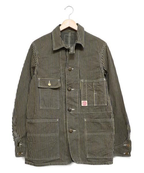 HEADLIGHT(ヘッドライト)HEADLIGHT (ヘッドライト) BROWN HICKORY WORK COAT ブラウン サイズ:38の古着・服飾アイテム
