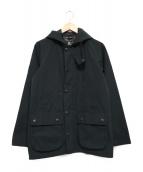 Barbour(バブアー)の古着「フーデッドビデイルジャケット」|ブラック