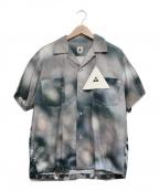 The Mongolian Choppsss(ザモンゴリアンチョップス)の古着「Open Collar Shirts ギザ十」 グレー