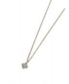 Tiffany & Co.(ティファニー)の古着「クルーシーフォームネックレス」 ゴールド×シルバー