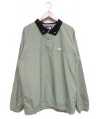THE NORTHFACE PURPLELABEL(ザノースフェイスパープルレーベル)の古着「プルオーバーシャツ」|カーキ