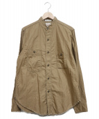 BIG YANK(ビッグヤンク)の古着「タチキリシャツ」 カーキ
