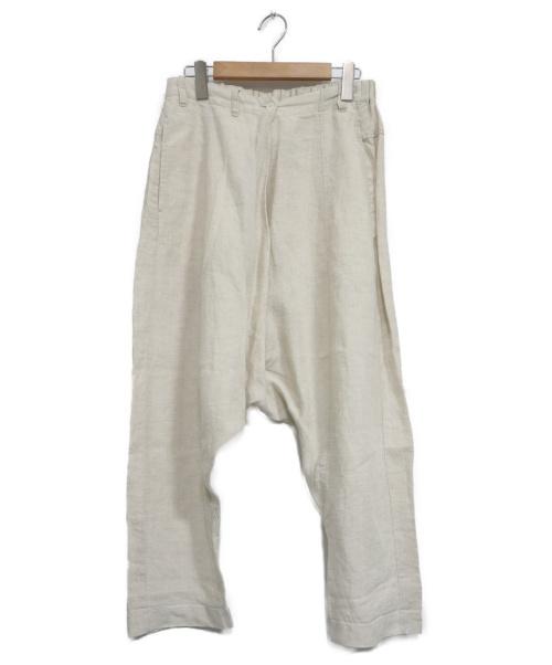 nest Robe(ネストローブ)nest Robe (ネストローブ) ウォッシュドリネンサルエルパンツ アイボリー サイズ:表記なしの古着・服飾アイテム
