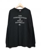Supreme×Undercover(シュプリーム×アンダーカバー)の古着「Counterattack L/S Tee」|ブラック