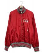 DOLCE & GABBANA(ドルチェアンドガッバーナ)の古着「ナイロンジャケット」|レッド