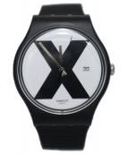 SWATCH(スウォッチ)の古着「XX-RATED」|ブラック