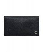 BVLGARI(ブルガリ)の古着「レザー長財布」 ブラック