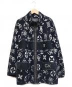 伊太利屋(イタリヤ)の古着「ニットジップジャケット」|ネイビー