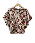 77circa(ナナナナサーカ)の古着「リメイクアロハシャツ」 レッド