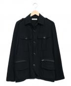 UMIT BENAN(ウミットベナン)の古着「コットンミリタリージャケット」|ネイビー