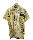 Christian Dior MONSIEUR(クリスチャンディオールムッシュ)の古着「古着総柄シャツ」|イエロー