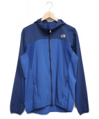 THE NORTH FACE(ザノースフェイス)の古着「Swallowtail Vent Hoodie」 ブルー