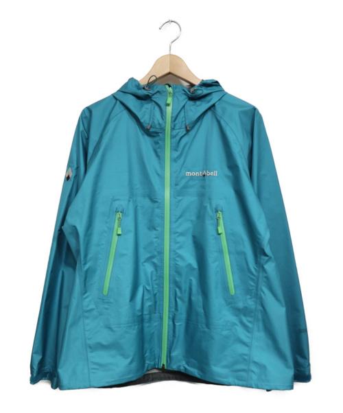 mont-bell(モンベル)mont-bell (モンベル) ストームクルーザージャケット ブルー サイズ:Lの古着・服飾アイテム