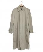 LONDON FOG(ロンドンフォグ)の古着「ボアライナー付ステンカラーコート」 ベージュ