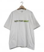 LOOPWHEELER(ループウィラー)の古着「NOT FOR SALEプリントTシャツ」|ホワイト
