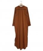 NOMA t.d.(ノーマティーディー)の古着「Rib Long Dress」 ブラウン
