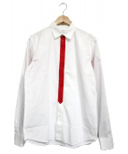 GIVENCHY(ジバンシィ)の古着「Colourblock Shirt」|ホワイト