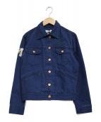 ISABEL MARANT ETOILE(イザベルマラン エトワール)の古着「刺繍デニムジャケット」|インディゴ