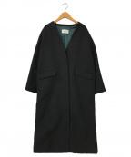 JOHNBULL(ジョンブル)の古着「カルゼルメルトンコート」 ブラック