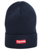 Supreme(シュプリーム)の古着「スモールボックスロゴニットキャップ」|ネイビー