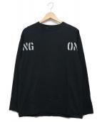 N.HOOLYWOOD(エヌハリウッド)の古着「TRNG ONLY L/S TEE」|ブラック
