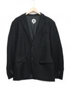 ANREALAGE(アンリアレイジ)の古着「デザインテーラードジャケット」|ブラック