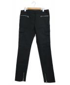3.1 phillip lim(スリーワンフィリップリム)の古着「ジップカーゴパンツ」 ブラック