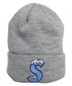 SUPREME×NEWERA(シュプリーム×ニューエラ)の古着「S Logo Beanie」|Heather Grey