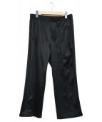 ()の古着「Boots-Cut Track Pants」|ブラック