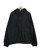 ()の古着「Cotton Hooded Raglan Jacket」|ブラック