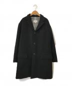 STEVEN ALAN(スティーブンアラン)の古着「中綿チェスターコート」|ブラック