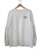 CHALLENGER(チャレンジャー)の古着「FISHING CLUB L/S CUTSEW」 ホワイト
