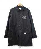 BEDWIN &THE HEARTBREAKERS(ベドウィンアンドザ ハートブレイカーズ)の古着「COACH JKT JILL」 ブラック