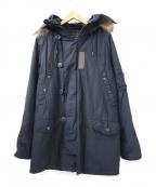 ALPHA()の古着「N3-Bコート」|ネイビー