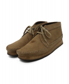 ()の古着「WEAVER BOOT OAKWOOD SUEDE」|ベージュ