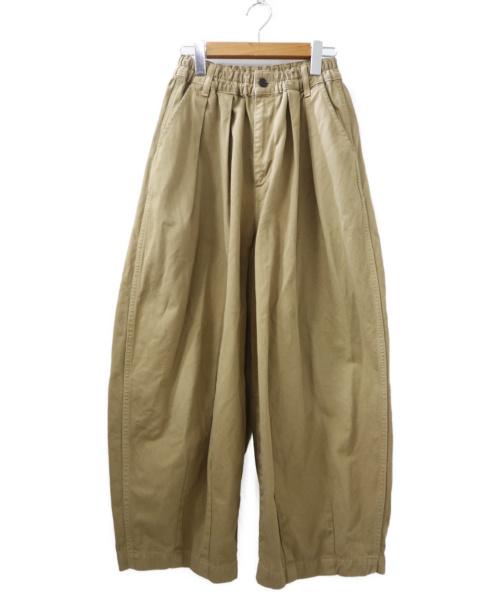 HARVESTY(ハーベスティー)HARVESTY (ハーベスティー) チノクロスサーカスパンツ ベージュ サイズ:1の古着・服飾アイテム