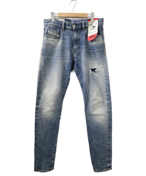 DIESEL(ディーゼル)DIESEL (ディーゼル) D-STRUKTデニムパンツ インディゴ サイズ:W31の古着・服飾アイテム