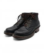 WHITES BOOTS(ホワイツ ブーツ)の古着「SEMIDRESS」 ブラック