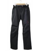 MAMMUT(マムート)の古着「ソフテックトレッカーズパンツ」|ブラック