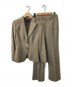 23区(ニジュウサンク)の古着「ウールブレンドセットアップスーツ」|ベージュ