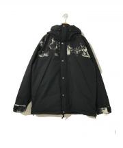 JOURNAL STANDARD(ジャーナルスタンダード)の古着「LASKA PRO マウンテンダウンジャケット」|ブラック