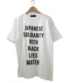 ()の古着「black lives matterTシャツ/チャリティーT」|ホワイト