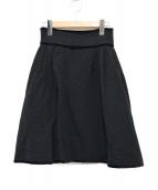 ()の古着「フレアスカート」|ブラック