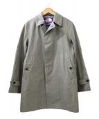 ()の古着「別注ステンカラーコート」|グレー